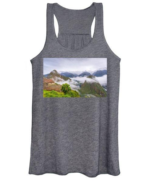 Cloudy Mountains. Women's Tank Top
