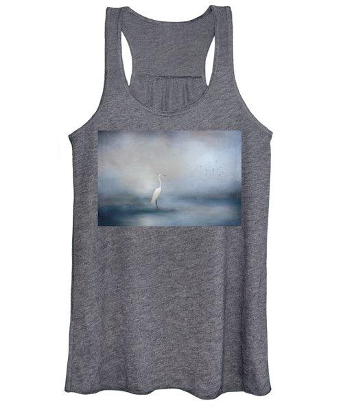 Coastal Egret Women's Tank Top