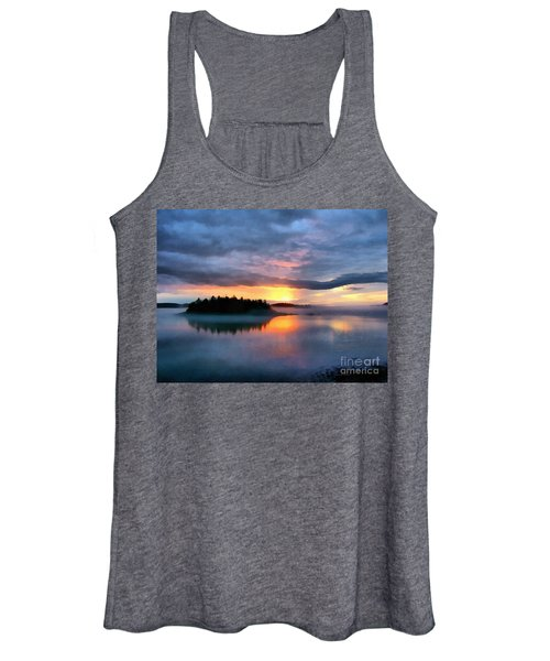 Coastal Maine Sunset Women's Tank Top