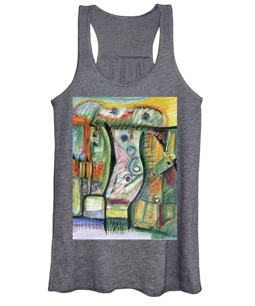 Coco Palm Women's Tank Top