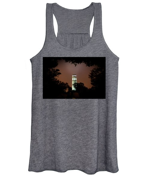 Coit Tower Through The Trees Women's Tank Top