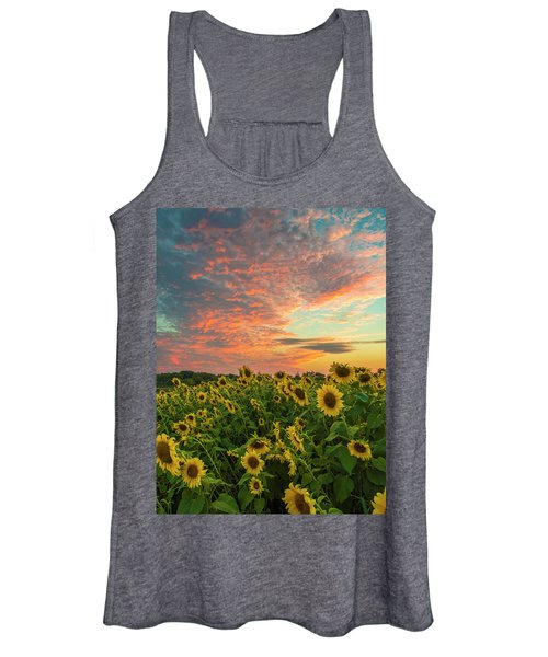Colby Farm Sunflowers Women's Tank Top