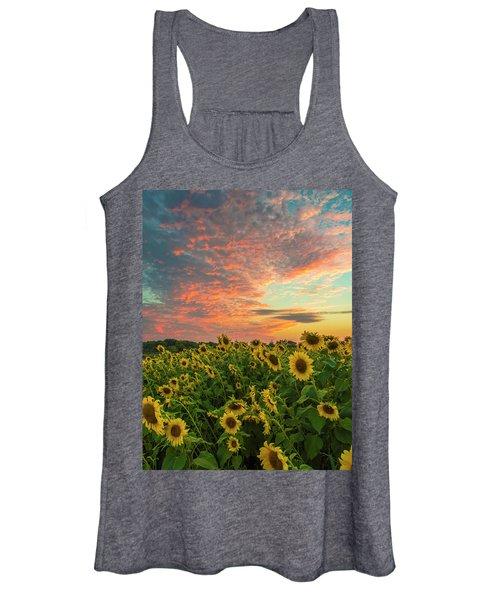 Colby Farm Sunflowers Women's Tank Top