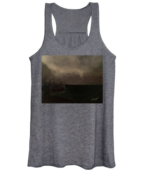 Cold Fog And Sea Women's Tank Top