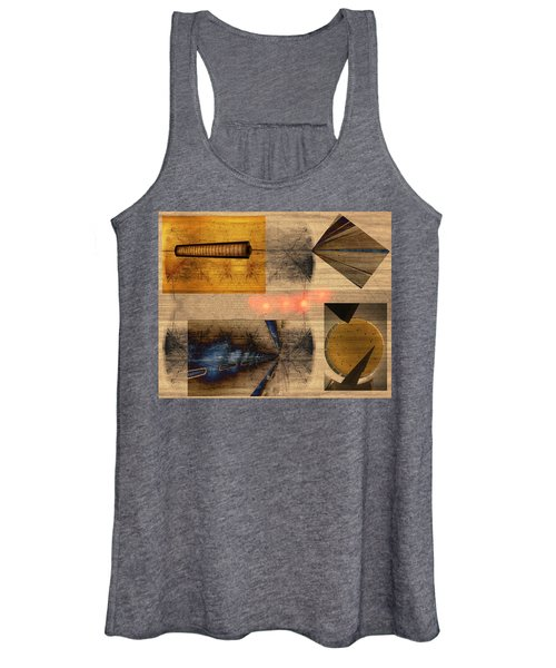Collage - Cle Airport Women's Tank Top