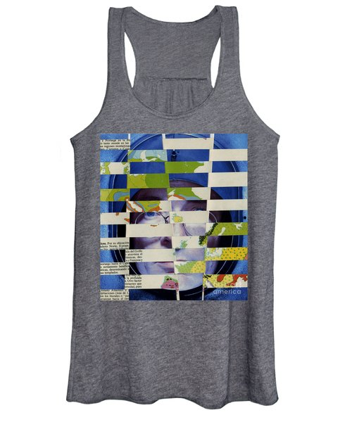 Collage Verso Women's Tank Top