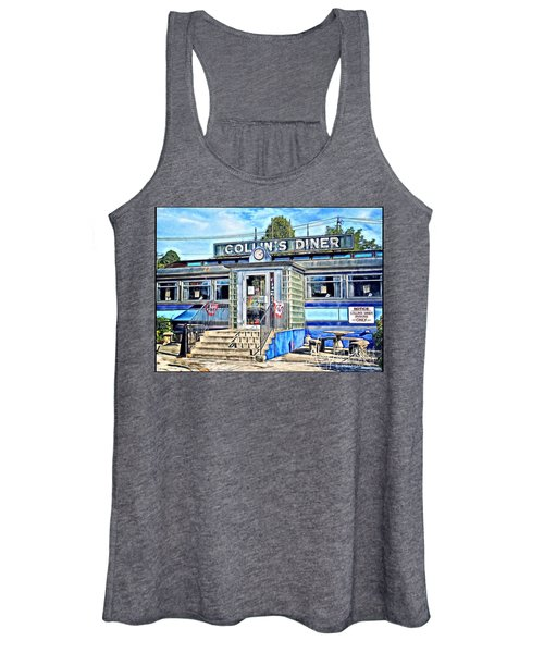 Collin's Diner New Canaan,conn Women's Tank Top