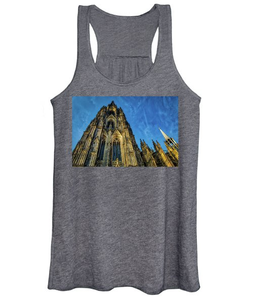 Cologne Cathedral Afternoon Women's Tank Top