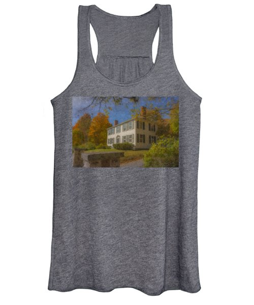 Colonial House On Main Street, Easton Women's Tank Top