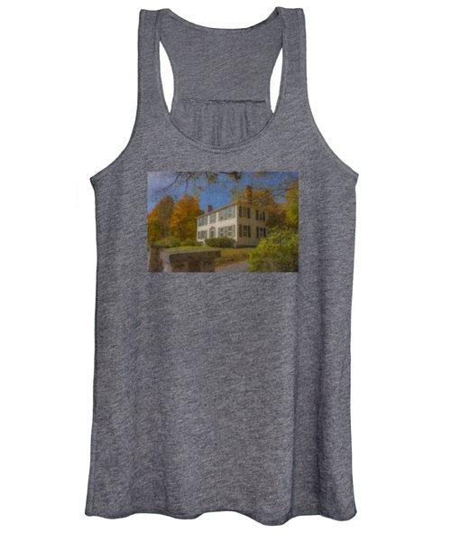 Colonial House On Main Street, Easton Women's Tank Top