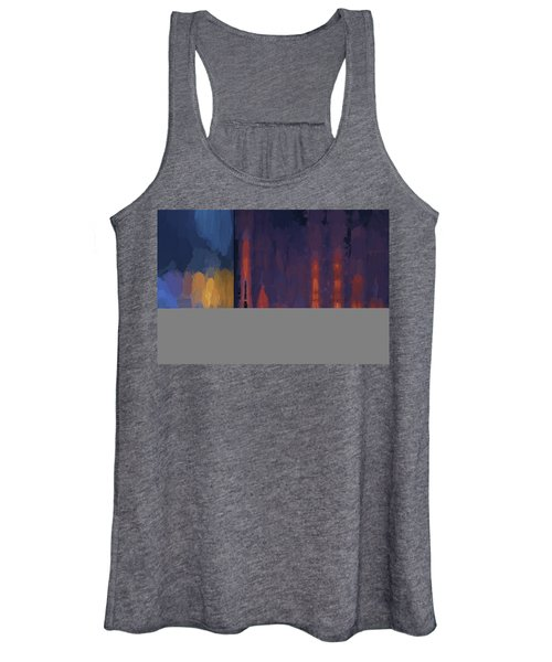 Color Abstraction Lii Women's Tank Top