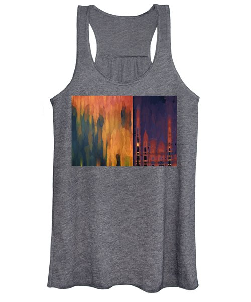 Color Abstraction Liv Women's Tank Top