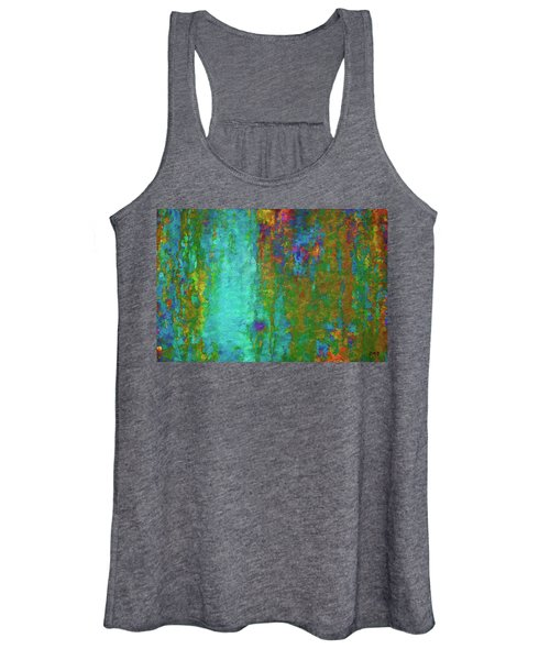 Color Abstraction Lxvii Women's Tank Top