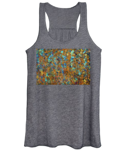 Color Abstraction Lxxiv Women's Tank Top