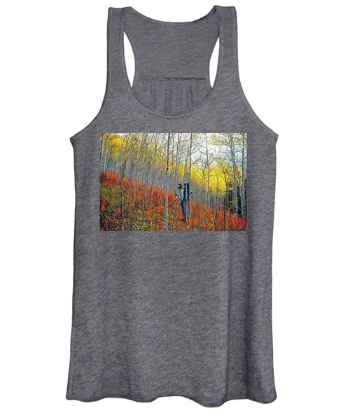 Color Fall Women's Tank Top