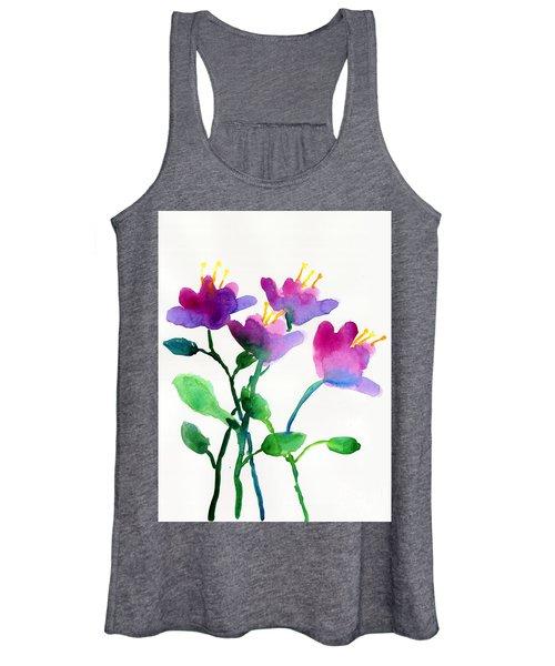 Color Flowers Women's Tank Top