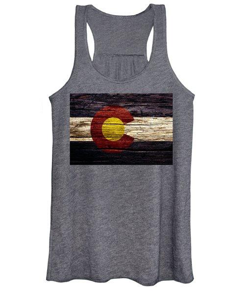 Colorado State Flag 3w Women's Tank Top
