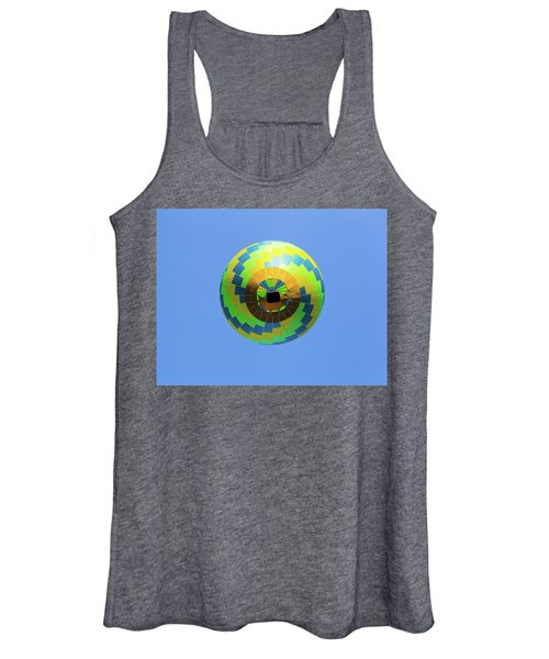 Colorful Abstract Hot Air Balloon Women's Tank Top