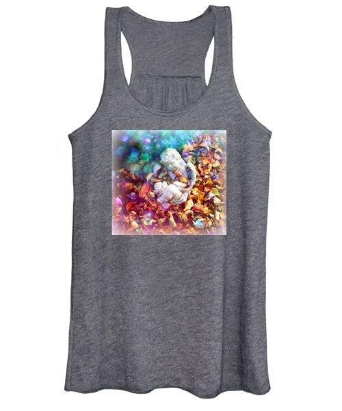Colorful Cherub Women's Tank Top