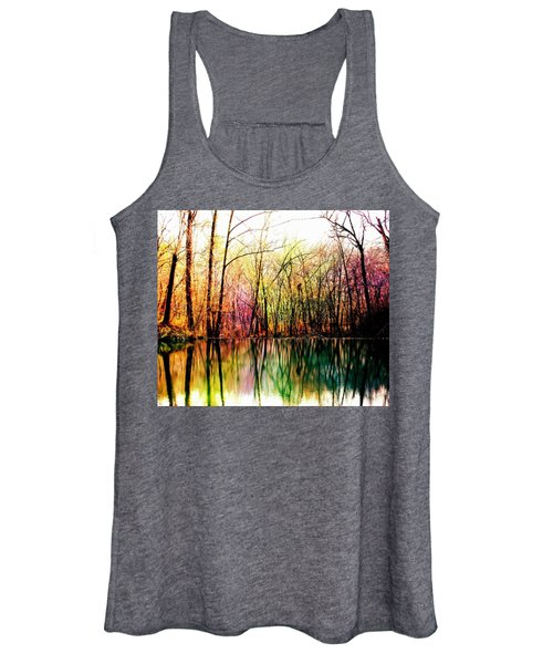 Colorful Reflections Women's Tank Top