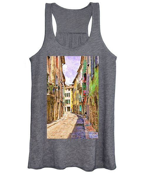 Colors Of Provence, France Women's Tank Top