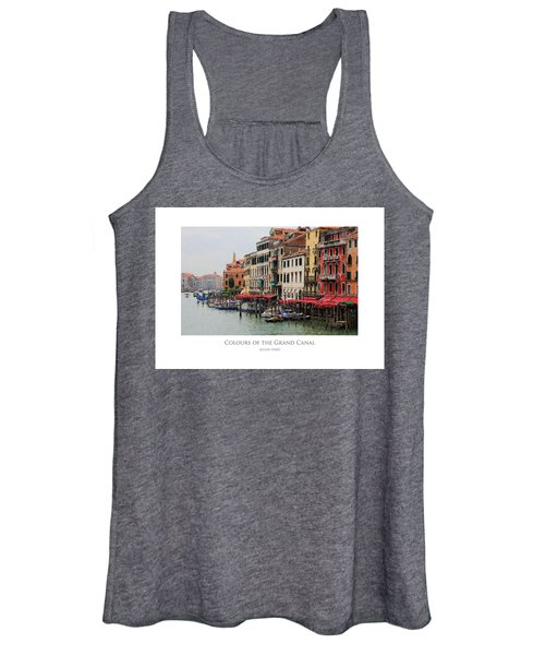 Colours Of The Grand Canal Women's Tank Top