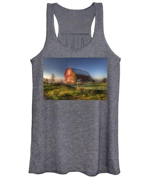 0009 - Columbiaville Red I Women's Tank Top