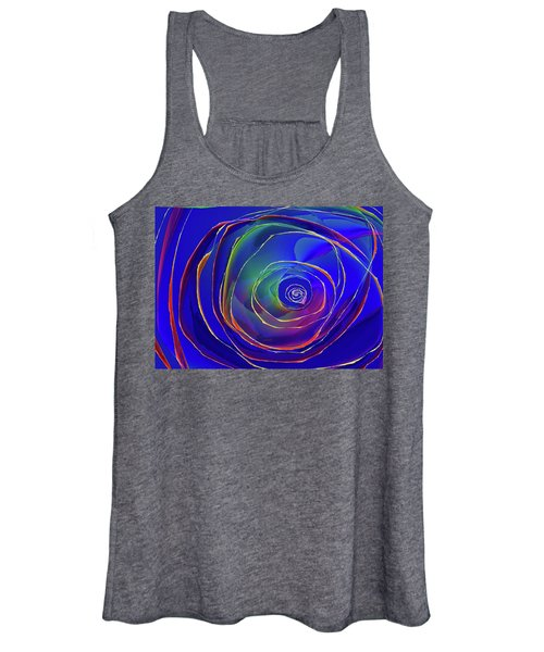Concentric Women's Tank Top