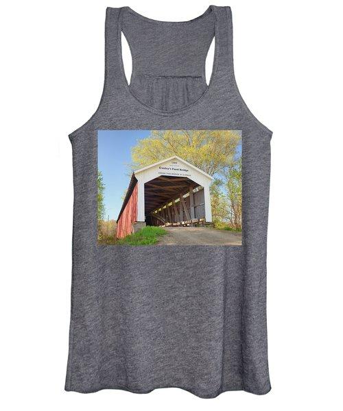 Conley's Ford Covered Bridge Women's Tank Top