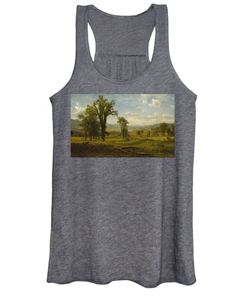 Connecticut River Valley, Claremont, New Hampshire Women's Tank Top