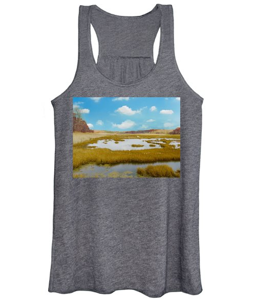 Connecticut Salt Water Marsh Women's Tank Top