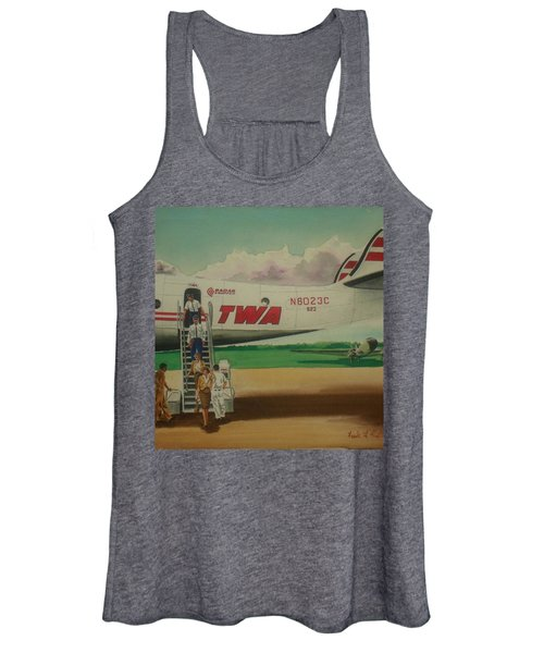 Connie Crew Deplaning At Columbus Women's Tank Top