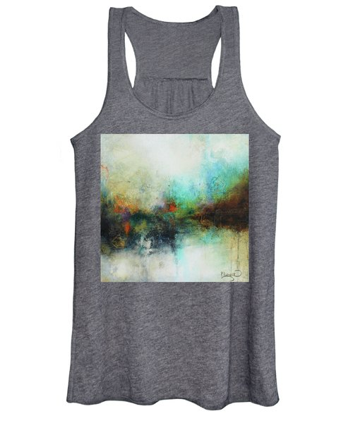 Contemporary Abstract Art Painting Women's Tank Top