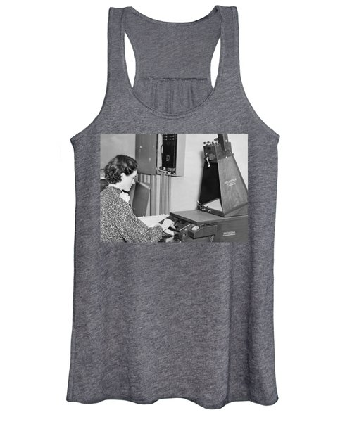 Copying Archival Documents Women's Tank Top