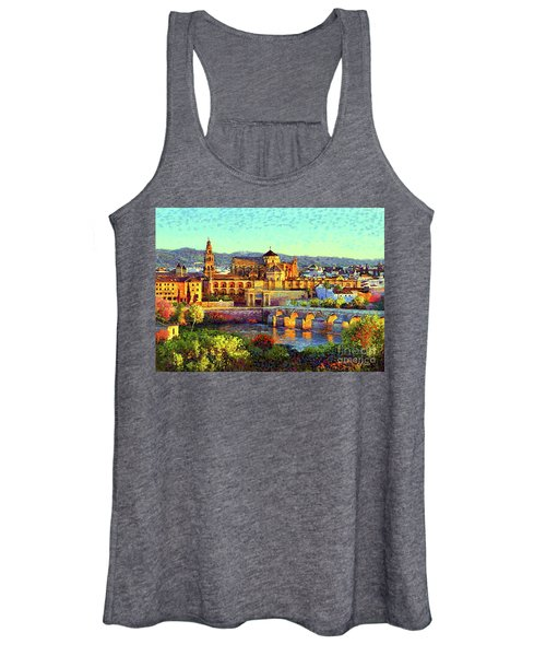 Cordoba Mosque Cathedral Mezquita Women's Tank Top