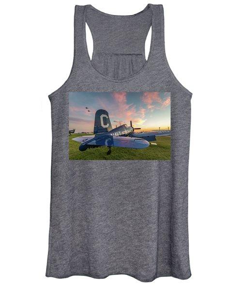 Corsair Sunset Women's Tank Top