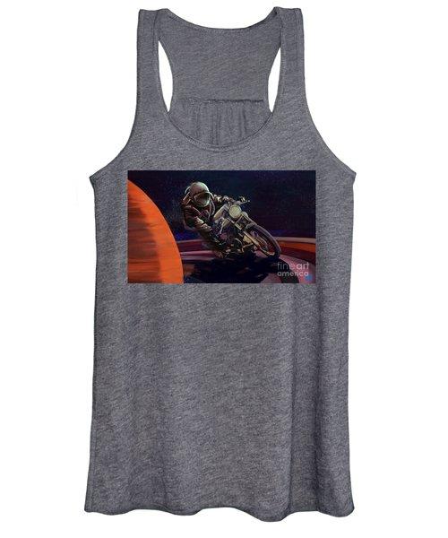 Cosmic Cafe Racer Women's Tank Top