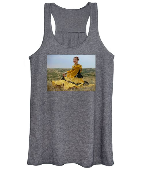 Cossack Young Lady Women's Tank Top