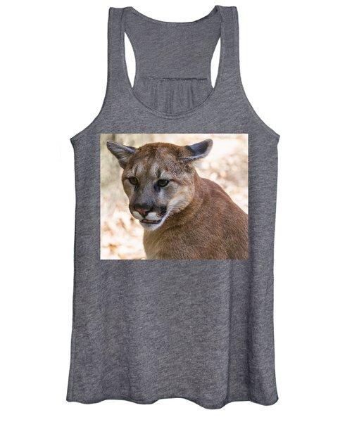 Cougar Portrait Women's Tank Top