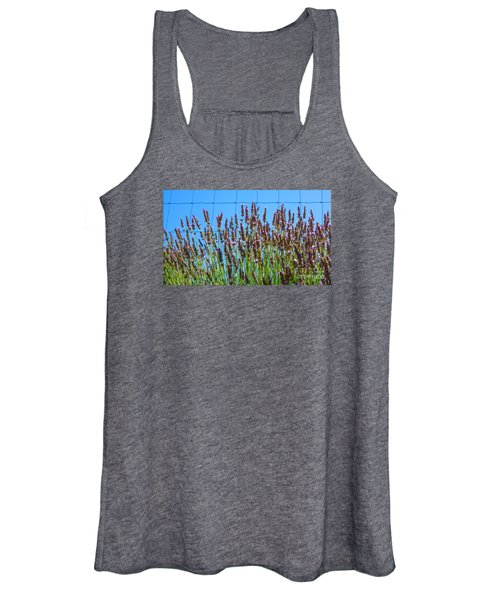 Country Lavender IIi Women's Tank Top