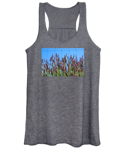 Country Lavender Iv Women's Tank Top