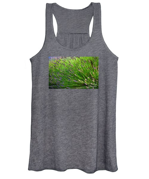 Country Lavender Vi Women's Tank Top