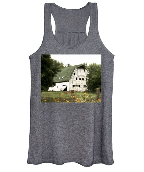 Country Lilies Women's Tank Top