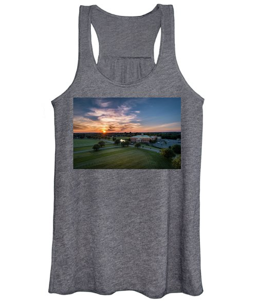Courthouse Sunset Women's Tank Top