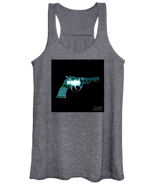 Cowboy Gun 001 Women's Tank Top