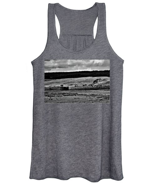 Cows On A Wall Women's Tank Top