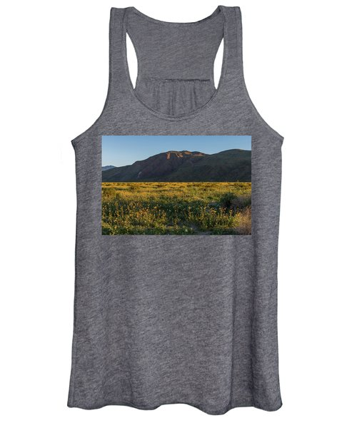 Coyote Mountain And Henderson Canyon Road Women's Tank Top