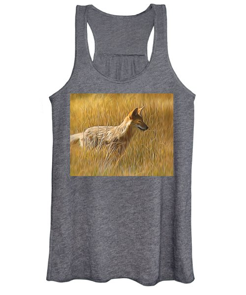 Coyote Sunshine Women's Tank Top