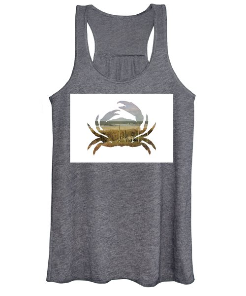 Crab Beach Women's Tank Top