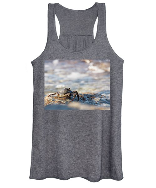 Crab Looking For Food Women's Tank Top